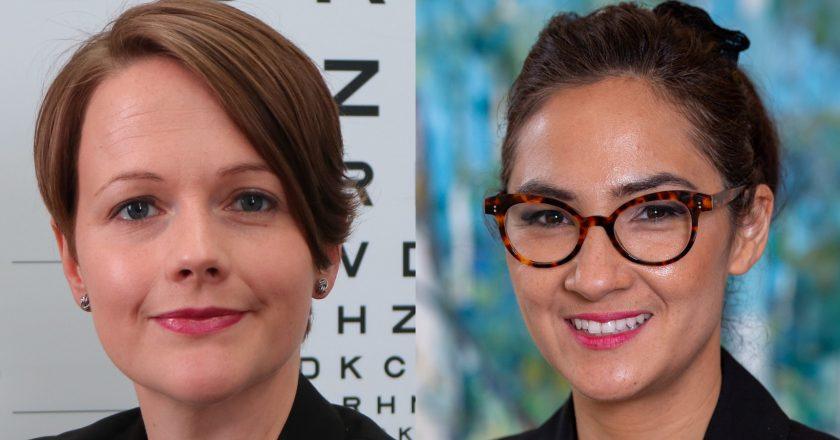 Lauren Ayton and Michelle Waugh Australian College of Optometry