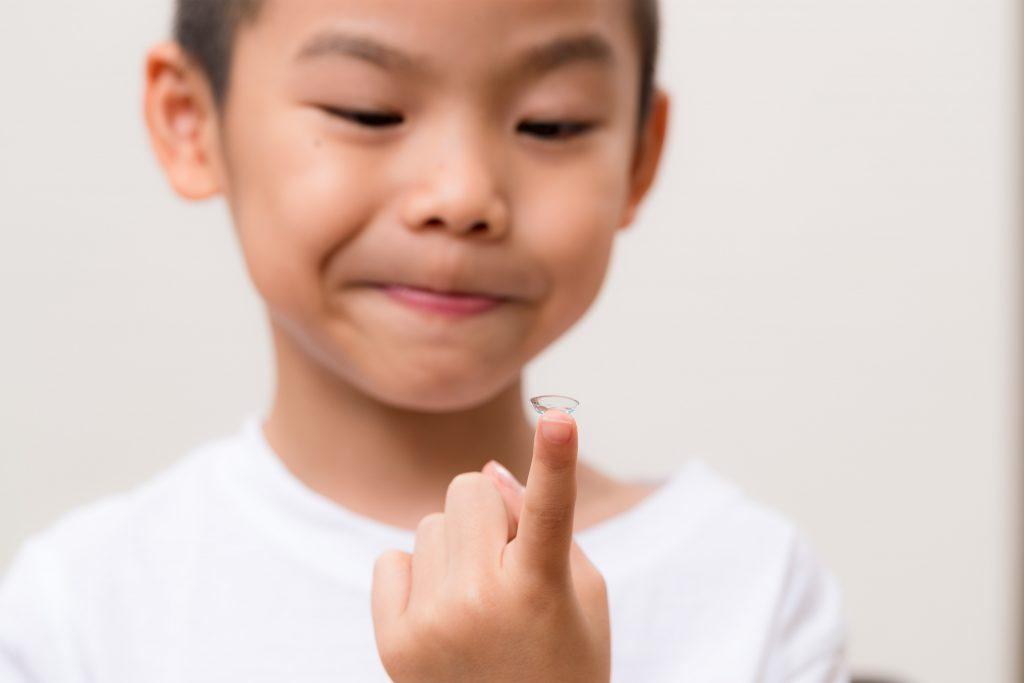child myopia contact lens 01
