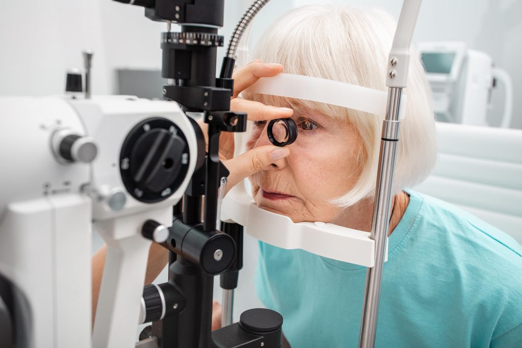 Glaucoma care orthoptist slit lamp australia awareness