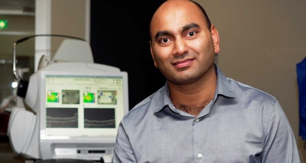 Dr Ranjay Chakraborty myopia research Flinders Caring Futures Institute