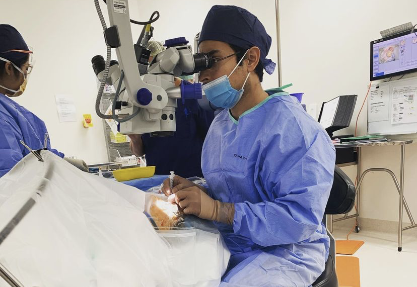 Ophthalmologist Dr Rahul Chakrabarti Mildura