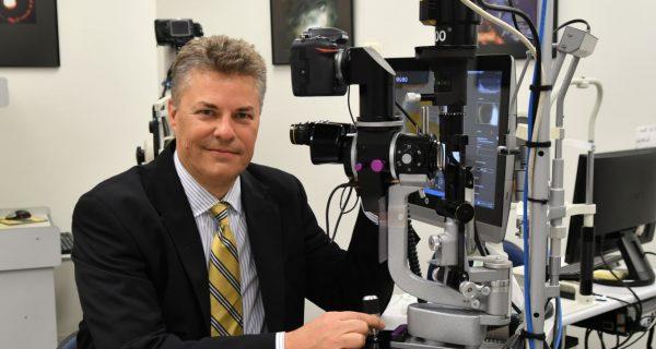 Flinders University Professor of Ophthalmology Jamie Craig