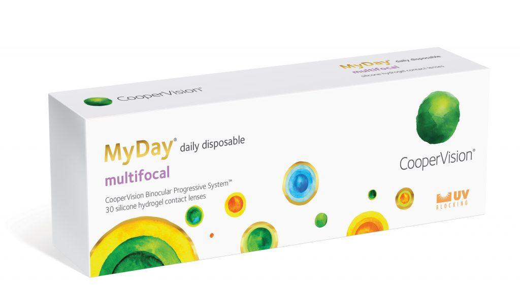 CooperVision MyDay presbyopia contact lens