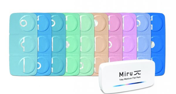 Menicon Miru 1day Flat Pack
