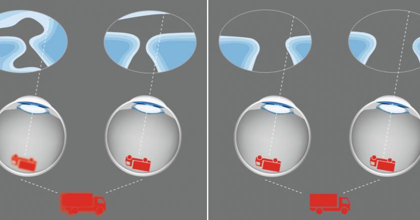 Nicola Peaper Rodenstock optical dispensing